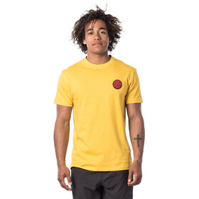 Rip Curl Passage T-shirt Heren, washed yellow